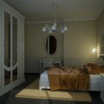Спальня светлая В1_000000