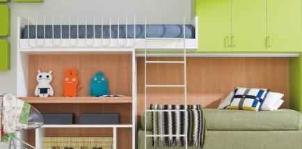 Итальянская детская кровать «Soppalco»