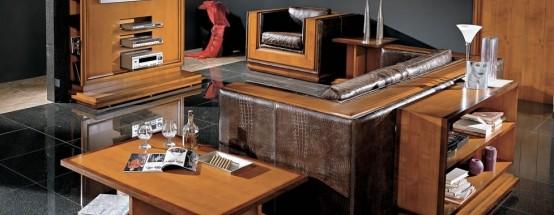 Итальянская мебель для гостиной «1842»