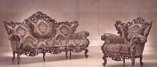 Итальянский комплект мягкой мебели «Maria»