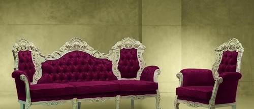 Итальянский комплект мягкой мебели «Luna»