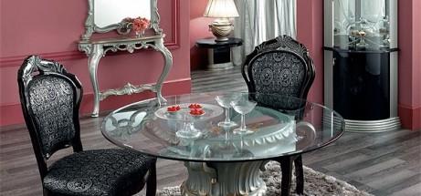 Итальянская гостиная «Barocco Black»