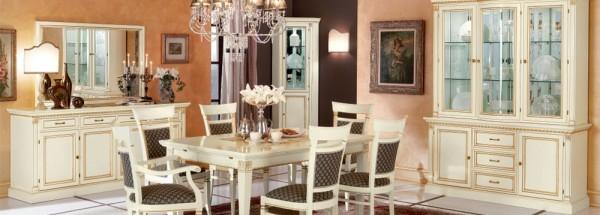 Итальянская гостиная «Venezia Bianco»