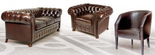 Испанское кресло «Т106» и испанский диван «Т1083»